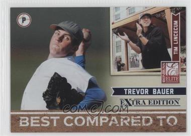 2011 Donruss Elite Extra Edition Best Compared To #1 - Tim Lincecum, Trevor Bauer /499