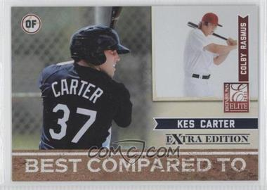 2011 Donruss Elite Extra Edition Best Compared To #10 - Colby Rasmus, Kes Carter /499