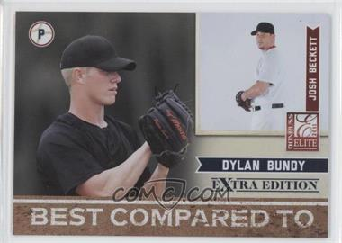 2011 Donruss Elite Extra Edition Best Compared To #2 - Dylan Bundy, Josh Beckett /499
