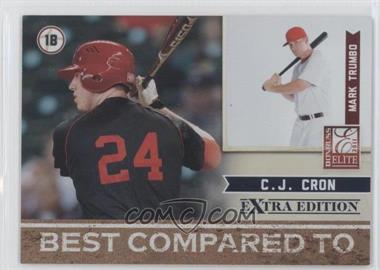 2011 Donruss Elite Extra Edition Best Compared To #3 - C.J. Cron, Mark Trumbo /499