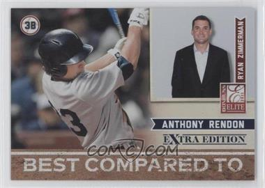 2011 Donruss Elite Extra Edition Best Compared To #6 - Anthony Rendon, Ryan Zimmerman /499
