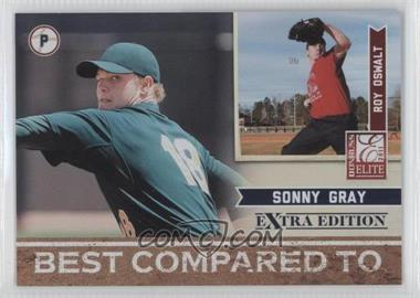 2011 Donruss Elite Extra Edition Best Compared To #8 - Roy Oswalt, Sonny Gray /499