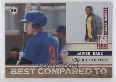 2011 Donruss Elite Extra Edition Best Compared To #9 - Hanley Ramirez, Javier Baez /499