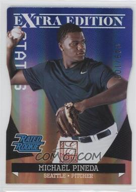 2011 Donruss Elite Extra Edition Blue Die-Cut Status #21 - Michael Pineda /100