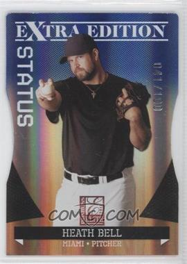 2011 Donruss Elite Extra Edition Blue Die-Cut Status #22 - Heath Bell /100