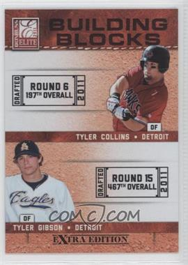 2011 Donruss Elite Extra Edition Building Blocks Dual #5 - Tyler Gibson, Tyler Collins