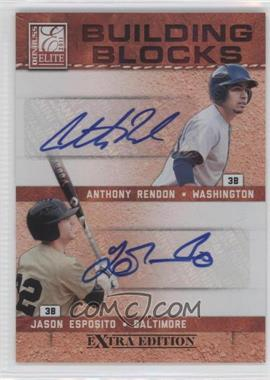 2011 Donruss Elite Extra Edition Building Blocks Quads Signatures [Autographed] #8 - Matt Dean, Anthony Rendon, Harold Martinez, Jason Esposito /10