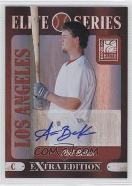 2011 Donruss Elite Extra Edition Elite Seires Signatures [Autographed] #19 - Abel Baker /199