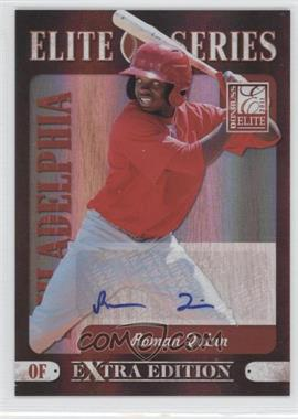 2011 Donruss Elite Extra Edition Elite Series Signatures [Autographed] #8 - Roman Quinn /199