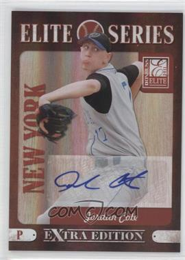 2011 Donruss Elite Extra Edition Elite Series Signatures [Autographed] #9 - Jordan Cote /212