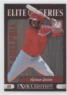 2011 Donruss Elite Extra Edition Elite Series #8 - Roman Quinn