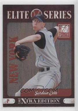 2011 Donruss Elite Extra Edition Elite Series #9 - Jordan Cote