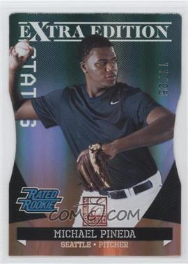 2011 Donruss Elite Extra Edition Emerald Status Die-Cut #21 - Michael Pineda /25