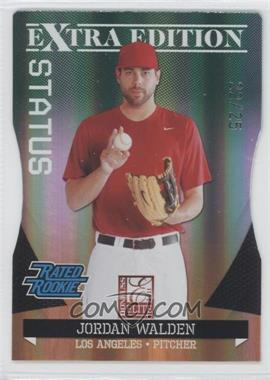 2011 Donruss Elite Extra Edition Emerald Status Die-Cut #9 - Jordan Walden /25