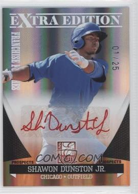 2011 Donruss Elite Extra Edition Franchise Futures Signatures Red Ink #152 - Shawon Dunston Jr. /25