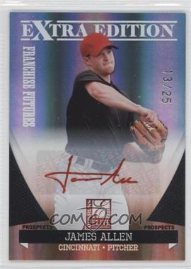 2011 Donruss Elite Extra Edition Franchise Futures Signatures Red Ink #35 - James Allen /25