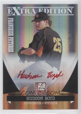 2011 Donruss Elite Extra Edition Franchise Futures Signatures Red Ink #57 - Hudson Boyd /25