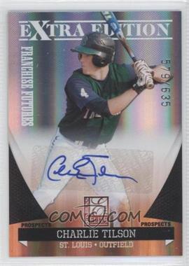 2011 Donruss Elite Extra Edition Franchise Futures Signatures #14 - Charlie Tilson /635