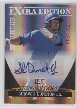 2011 Donruss Elite Extra Edition Franchise Futures Signatures #152 - Shawon Dunston Jr. /735