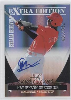 2011 Donruss Elite Extra Edition Franchise Futures Signatures #163 - Mariekson Gregorius /799