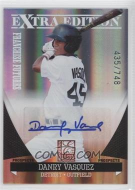 2011 Donruss Elite Extra Edition Franchise Futures Signatures #169 - Danry Vasquez /748