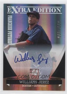 2011 Donruss Elite Extra Edition Franchise Futures Signatures #18 - Williams Jerez /475
