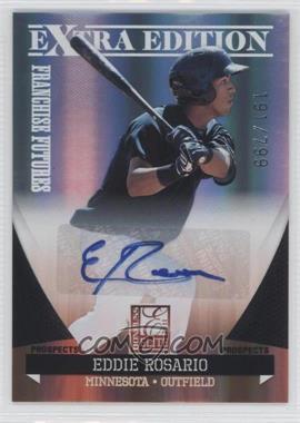 2011 Donruss Elite Extra Edition Franchise Futures Signatures #186 - Eddie Rosario /799