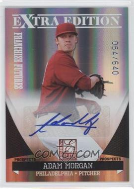 2011 Donruss Elite Extra Edition Franchise Futures Signatures #21 - Adam Morgan /640
