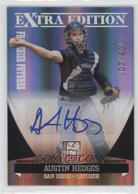 2011 Donruss Elite Extra Edition Franchise Futures Signatures #28 - Austin Hedges /201
