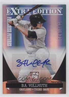 2011 Donruss Elite Extra Edition Franchise Futures Signatures #30 - B.A. Vollmuth /633