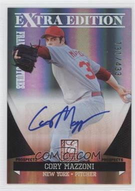 2011 Donruss Elite Extra Edition Franchise Futures Signatures #4 - Cory Mazzoni /433