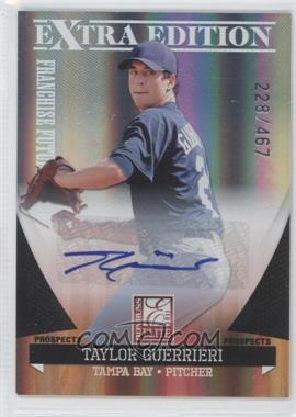 2011 Donruss Elite Extra Edition Franchise Futures Signatures #50 - Taylor Guerrieri /467