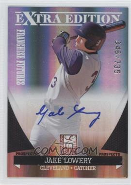 2011 Donruss Elite Extra Edition Franchise Futures Signatures #63 - Jake Lowery /735