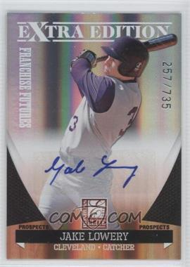 2011 Donruss Elite Extra Edition Franchise Futures Signatures #63 - Jake Lowery /735