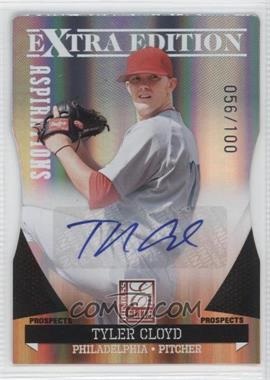 2011 Donruss Elite Extra Edition Prospects Aspirations Die-Cut Signatures [Autographed] #158 - Tyler Cloyd /100