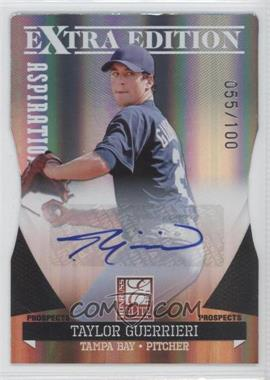 2011 Donruss Elite Extra Edition Prospects Aspirations Die-Cut Signatures [Autographed] #50 - Taylor Guerrieri /100