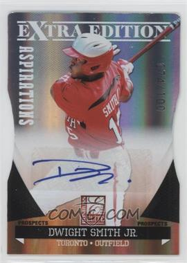 2011 Donruss Elite Extra Edition Prospects Aspirations Die-Cut Signatures [Autographed] #98 - Dwight Smith Jr. /100