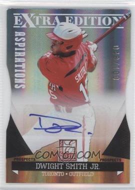 2011 Donruss Elite Extra Edition Prospects Aspirations Die-Cut Signatures [Autographed] #98 - Dwight Smith Jr. /100