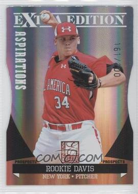2011 Donruss Elite Extra Edition Prospects Aspirations Die-Cut #153 - Rookie Davis /200