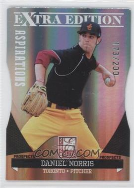 2011 Donruss Elite Extra Edition Prospects Aspirations Die-Cut #17 - Daniel Norris /200