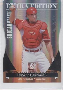 2011 Donruss Elite Extra Edition Prospects Aspirations Die-Cut #74 - Pratt Maynard /200
