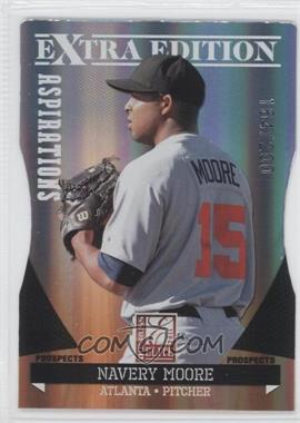 2011 Donruss Elite Extra Edition Prospects Aspirations Die-Cut #90 - Navery Moore /200
