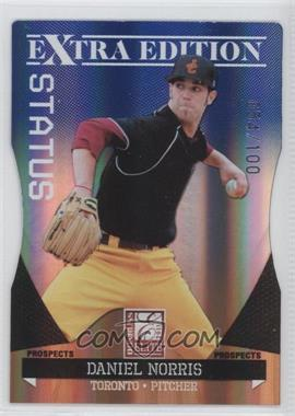 2011 Donruss Elite Extra Edition Prospects Blue Status Die-Cut #17 - Daniel Norris /100