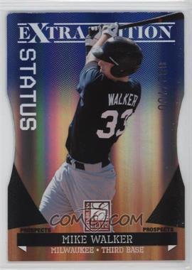2011 Donruss Elite Extra Edition Prospects Blue Status Die-Cut #179 - Mike Walker /100