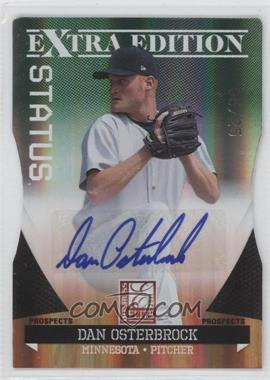 2011 Donruss Elite Extra Edition Prospects Emerald Status Die-Cut Signatures [Autographed] #164 - Dan Osterbrock /25