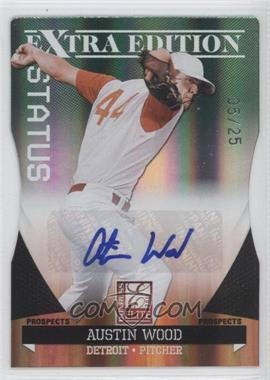 2011 Donruss Elite Extra Edition Prospects Emerald Status Die-Cut Signatures [Autographed] #31 - Austin Wood /25