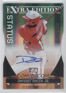2011 Donruss Elite Extra Edition Prospects Emerald Status Die-Cut Signatures [Autographed] #98 - Dwight Smith Jr. /25