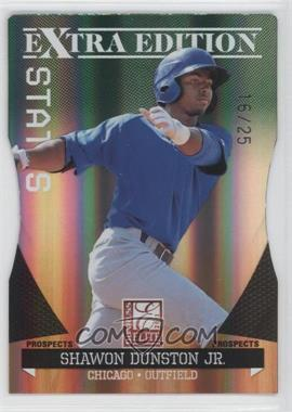 2011 Donruss Elite Extra Edition Prospects Emerald Status Die-Cut #152 - Shawon Dunston Jr. /25
