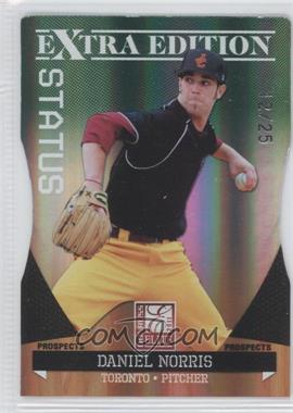 2011 Donruss Elite Extra Edition Prospects Emerald Status Die-Cut #17 - Daniel Norris /25