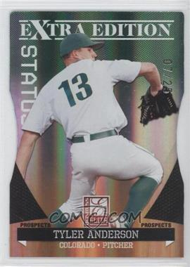 2011 Donruss Elite Extra Edition Prospects Emerald Status Die-Cut #8 - Tyler Anderson /25